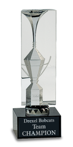 CRY028S CRYSTAL CUP AWARD BLACK BASE 8