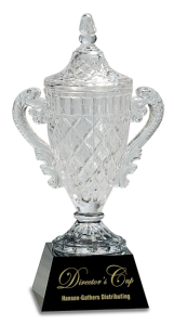 CRY051M CRYSTAL CUP AWARD 13