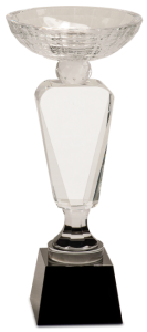 CRY6302L CRYSTAL CUP AWARD BLACK BASE 12