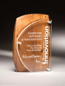 RUSB catalina acrylic wood award 10
